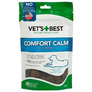 Vet's Best Comfort Calm Calming Soft Chews
