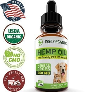 Hopewell Hemp Oil for Dogs and Cats