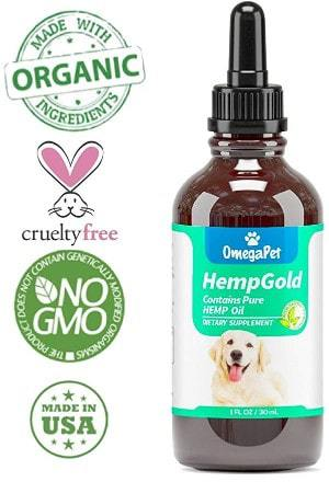 OmegaPet Hemp Oil for Dogs and Cats