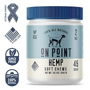 On Point Hemp All Natural Pet Chews