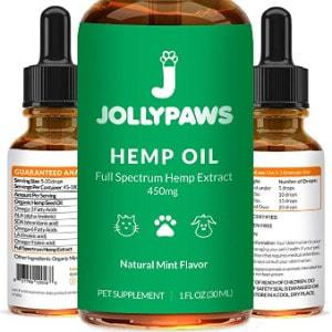 Jolly Paws Hemp Oil for Dogs and Cats