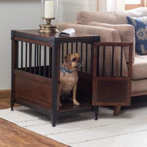 boomer & george wooden pet crate