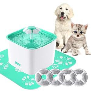 cat dog water dispenser 4 filters