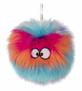 goDog Furballz Durable Plush Dog Toy with Chew Guard Technology