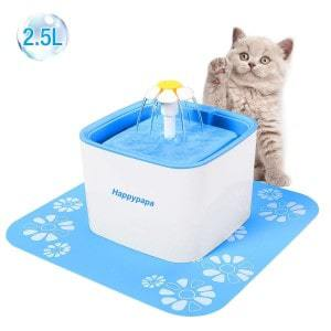 happypapa automatic pet fountain