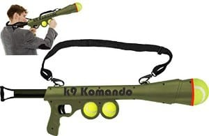 LavoHome Semi Automatic Blast Komando K-9 Tennis Ball Launcher Gun