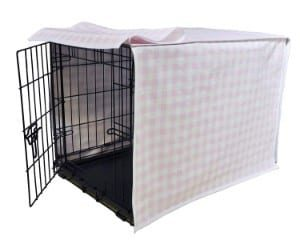 Puristica Designer Plaid Dog Crate Cover