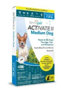 TevraPet Activate II Flea and Tick Topical