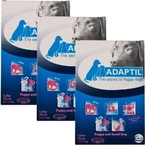 Adaptil DAP Collar for Puppies and Small Dogs 3 Pack