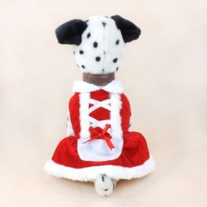 Colorfulhouse Christmas Dog Dress Cute Pet Costumes Pet Apparel for Small Dogs