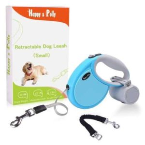 Happy & Polly Retractable Dog Leash