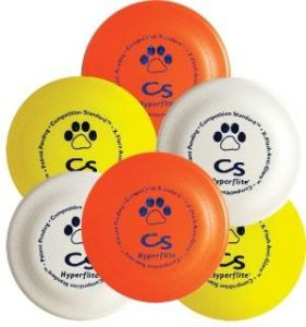 Hyperflite K-10 Competition Standard Dog Disc (6 pack)