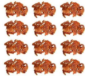Jones Natural Chews # 118 8 oz Pig Ear Dog Treat / Snacks - Quantity 12
