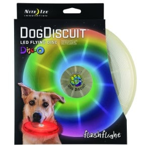 Nite Ize Flashlight Dog Discuit