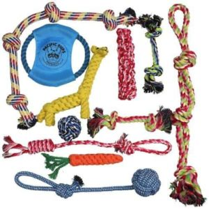 Pacific Pups Dog Rope Toys for Aggressive Chewer