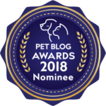 Pet Blog Awards Nominee Badge