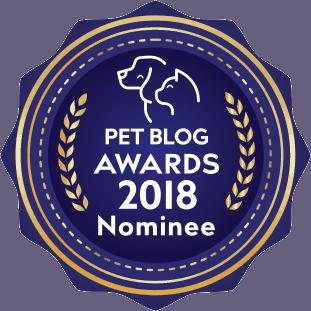 Pet Blog Awards Nominee Badge