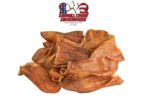 Pig Ears Half Chews, 25 Packs, Sourced & Made in USA