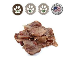 Pig Ears for Dogs - Made in the USA - Full Large Pig Ears 100% All Natural