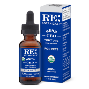 RE Botanicals Hemp CBD Tincture for Pets