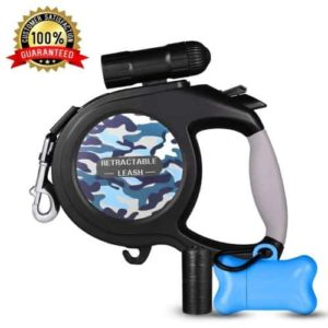 Retractable Dog Leash, Dog Walking Leash for Medium-Large Dogs up to 110lbs