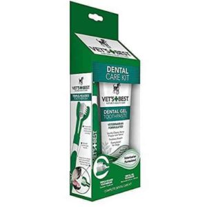 Vet's Best Dog Enzymatic Toothpaste and Toothbrush