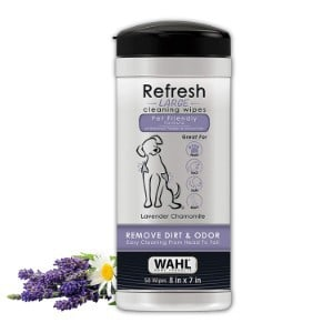 WAHL Pet Refresh Cleaning Wipes