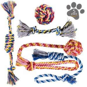 Washable Cotton Rope Toys for Dogs