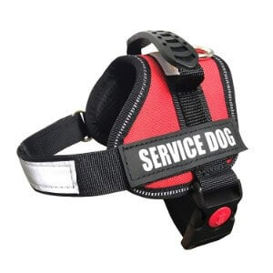 ALBCORP Reflective Service Dog Vest/Harness