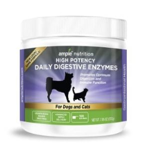 Ample Nutrition Digestive Enzymes For Pets