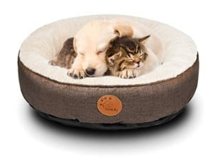 HACHIKITTY Dog Bed Washable Removable Cover