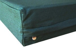 Dogbed4less Durable Olive Green Canvas Pet Bed External Duvet Cover