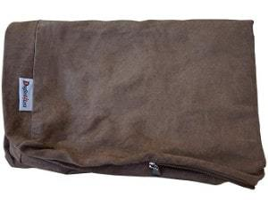 Dogbed4less Microsuede External Pet Bed Cover