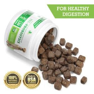Buddy&Max Probiotic Chews for Dogs with Digestive Enzymes