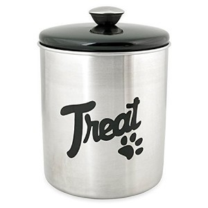 buddy's line stainless steel treat jar