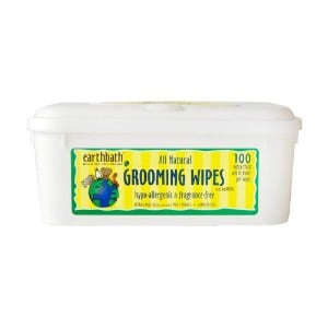 Earthbath All Natural Hypoallergenic Grooming Wipes