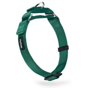 Hyhug Heavy Duty Nylon Anti-Escape Martingale Dog Collar