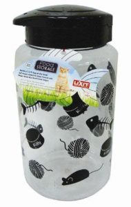 lixit cat food storage container