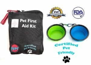 New Market Squared Pet First Aid Kit for Dogs And Cats