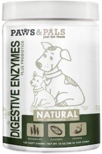 Paws & Pals Dog Digestive Enzymes Plus Probiotics