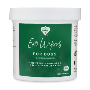 Project Paws Dogs Ear Wipes