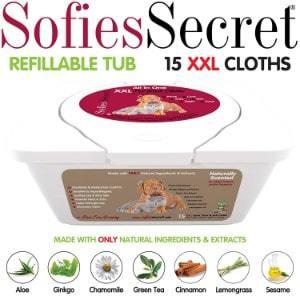 SofiesSecret Pet Bath Wipes