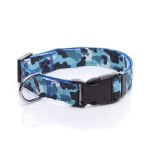 TAIDA Durable Nylon Camouflage Adjustable Dog Collar