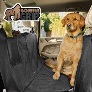 Gorilla Grip Original Durable Slip-Resistant Dog Car Seat