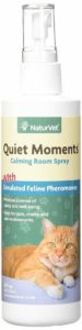 NaturVet Quiet Moments Herbal Calming Spray
