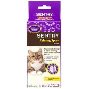 Sentry Calming Cat Spray