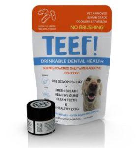 TEEF! Natural Dog Dental Water Additive