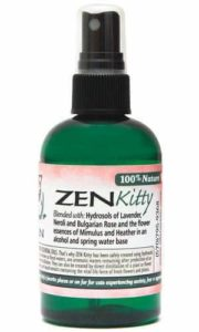 Zen Kitty - an Aromatic Feline Calming Blend of Pure Hydrosols and Flower Essences