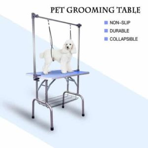 AODAILIHB Folding Pet Grooming Table for Dogs