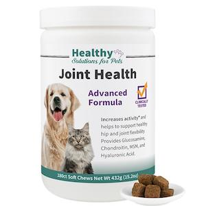 Advanced Joint Support Soft Chew Supplement by Healthy Solutions for Pets